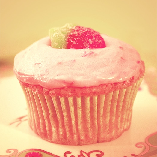 Strawberry-Banana-Cupcake