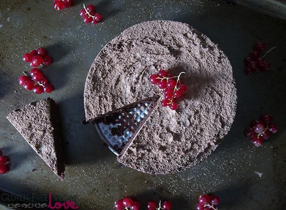 Fig and Chocolate Flourless Cake {Raw, Vegan, Gluten-Free, Grain-Free ...