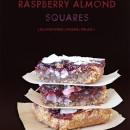 Gluten-Free Vegan Raspberry Almond Squares