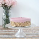 Gluten-Free Vegan Raw Strawberry Cheesecake